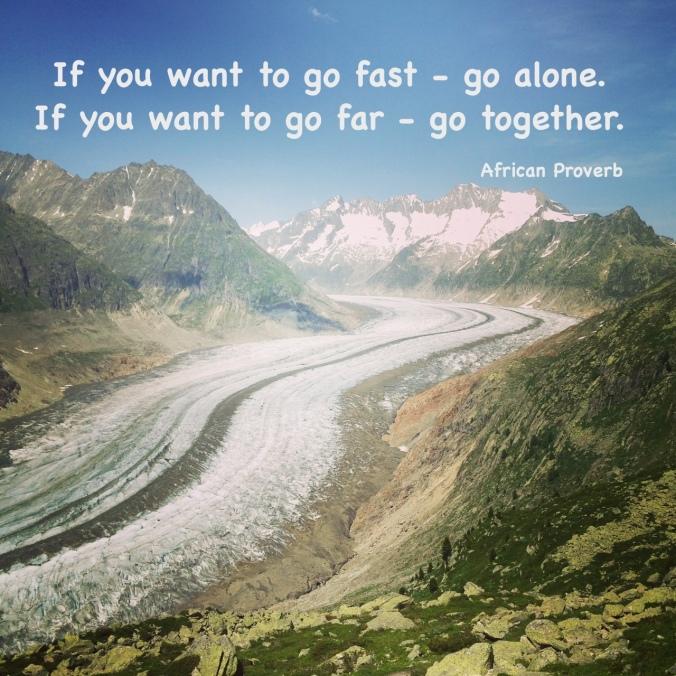 if you wonna go fast