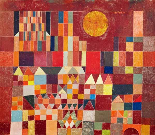 """Paul Klee """"Burg und Sonne"""""""