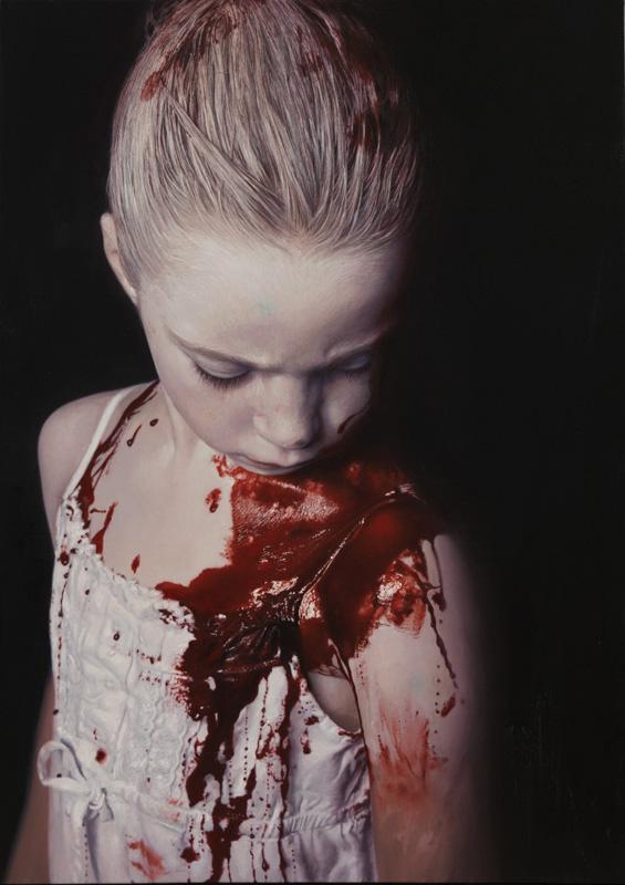 "Gottfried Helnwein ""The disasters of war"""
