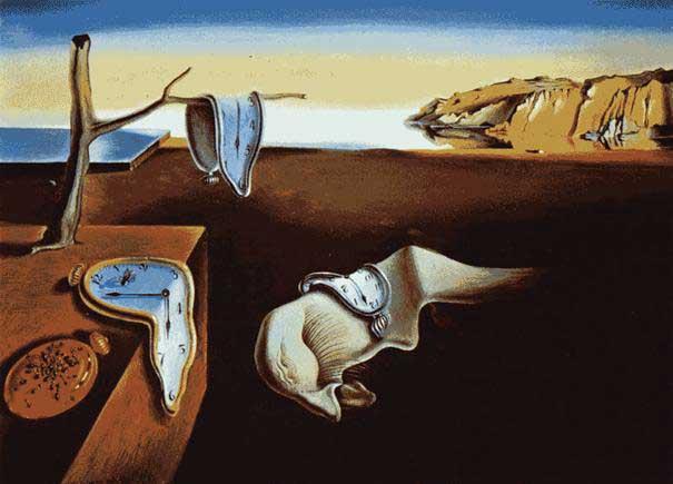 """Salvador Dali """"Die Beständigkeit der Erinnerung"""""""