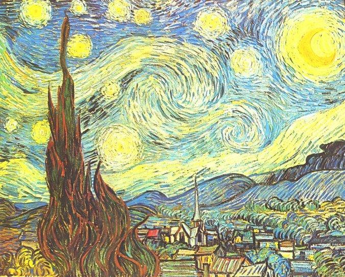 """Vincent van Gogh """"Sternennacht"""""""
